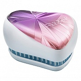 Tangle Teezer Compact Styler Smashed Holo Blue Щётка, сиреневый/белый