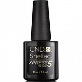 Shellac Xpress5 Top Coat Верхнее покрытие 15 мл