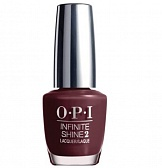 OPI Infinite Shine 54 - Stick To Your Burgundies, 15 мл
