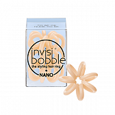 invisibobble Nano To Be or Nnude to Be Резинка-браслет для волос бежевая, 3 шт.