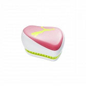 Tangle Teezer Compact Styler Puma Neon Yellow, розовый/белый/жёлтый