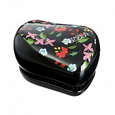 Tangle Teezer Compact Styler EMBROIDERED FLORAL (чёрный)